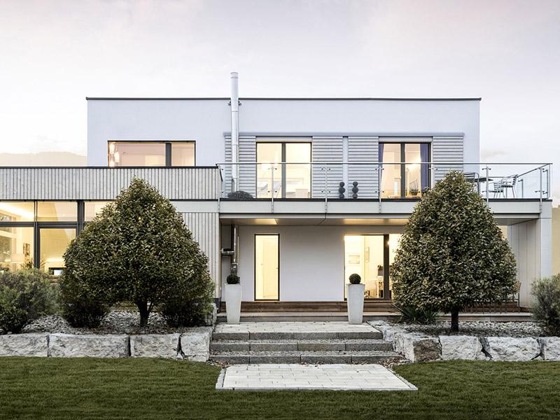 Box Mannheim von Griffnerhaus, Terrasse