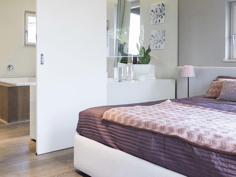 Box Mannheim von Griffnerhaus, Schlafzimmer