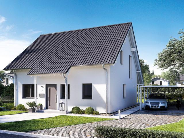 Familienhaus Jano Kern aussen Eingang