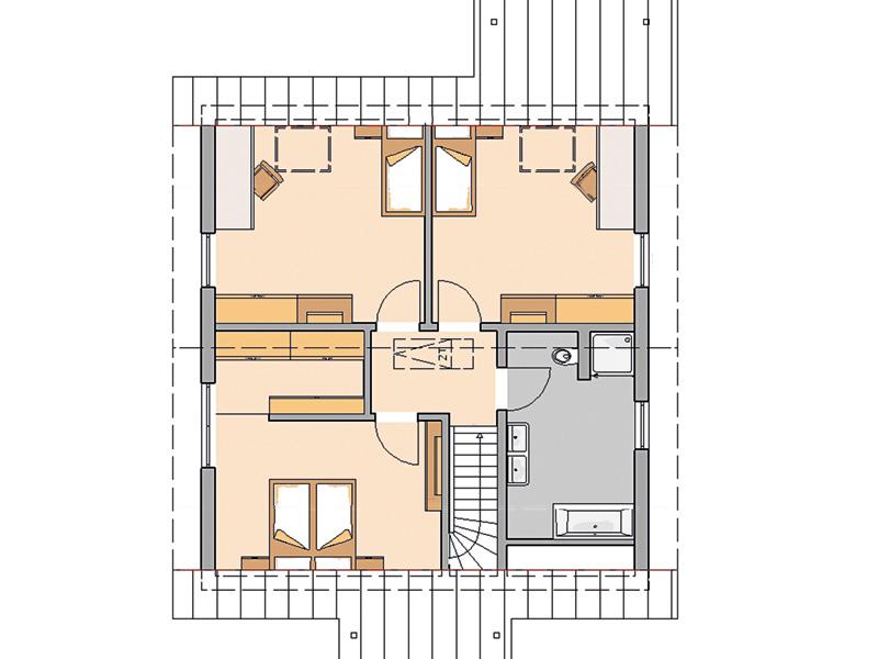 Familienhaus Jano von Kern-Haus Grundriss OG