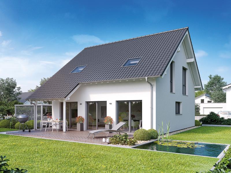 Familienhaus Jano Kern Terrasse