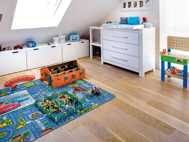 Familienhaus Jano Kern Kinderzimmer