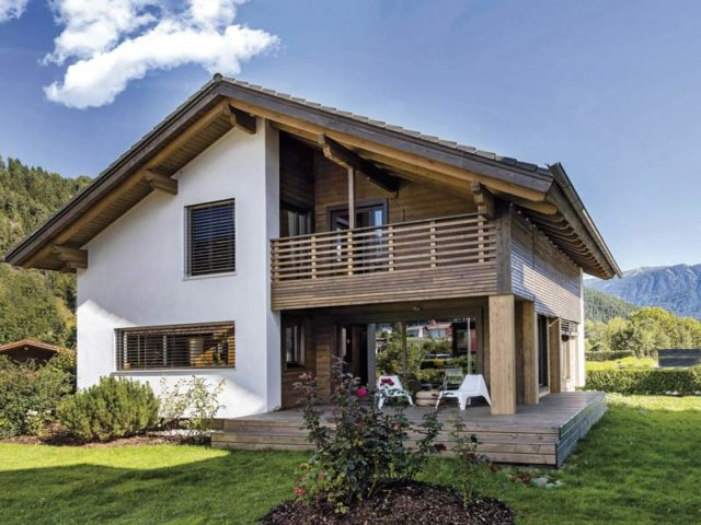 Haus Pusteria von Rubner-Haus -Außen