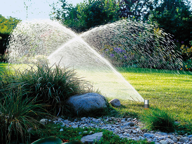 Gartenbewässerung Auftakt
