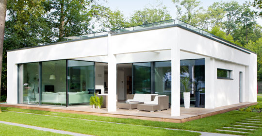 Häuser mit Bauhaus-DNA Bungalow Weber Haus
