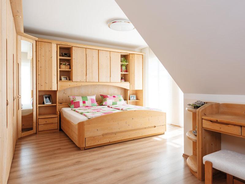 Kundenhaus Merkl Schlafzimmer