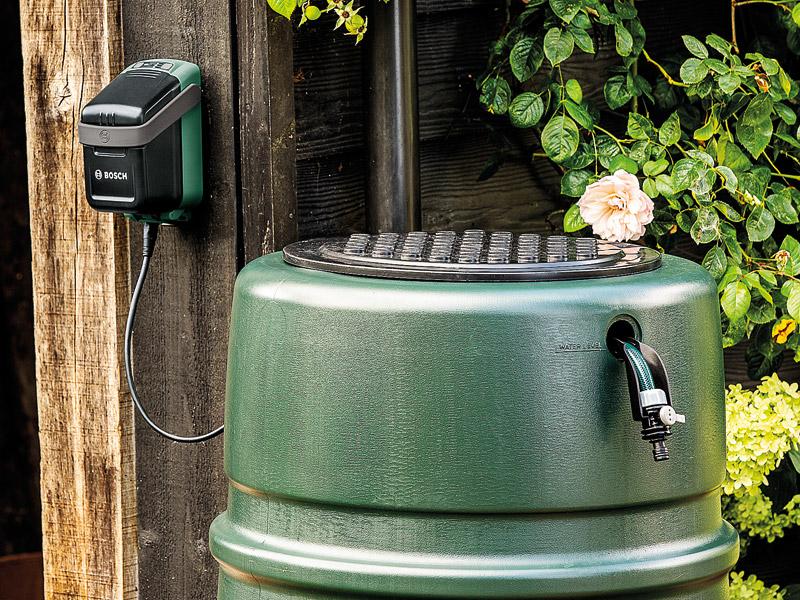 Gartenbewässerung Bosch Gartenpumpe