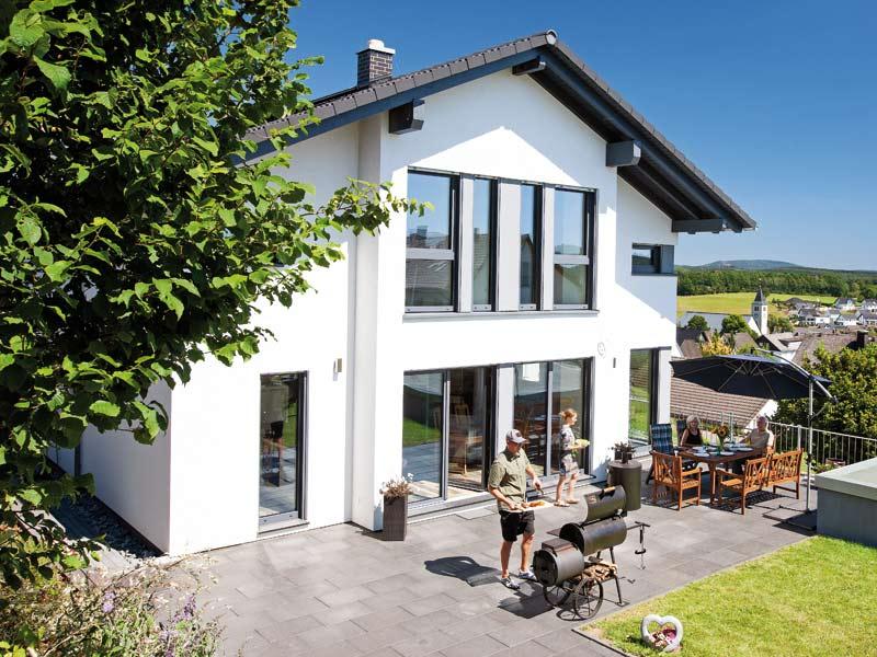 Kundenhaus Boehle von Bien-Zenker Terrasse