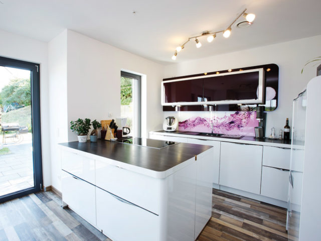 Kundenhaus Boehle von Bien-Zenker kochen