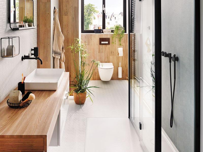 Gäste WC Duschlösung Kermi
