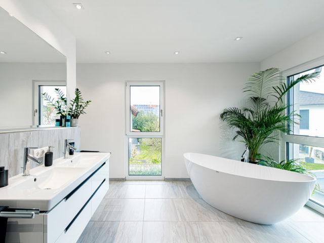 Weberhaus_Stadtvilla für zwei Karg Bad