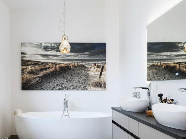 Badezimmer im Bungalow Haus Leitinger von Griffnerhaus