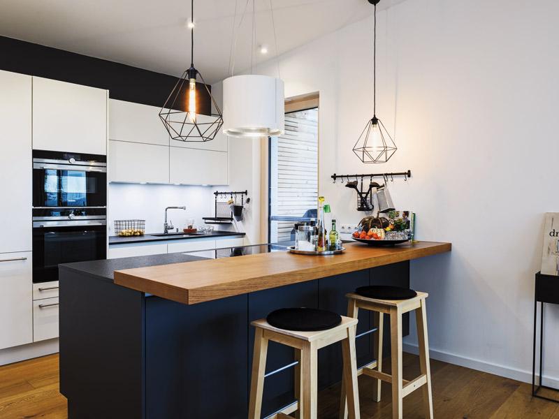 Küchentresen im Bungalow Haus Leitinger von Griffnerhaus