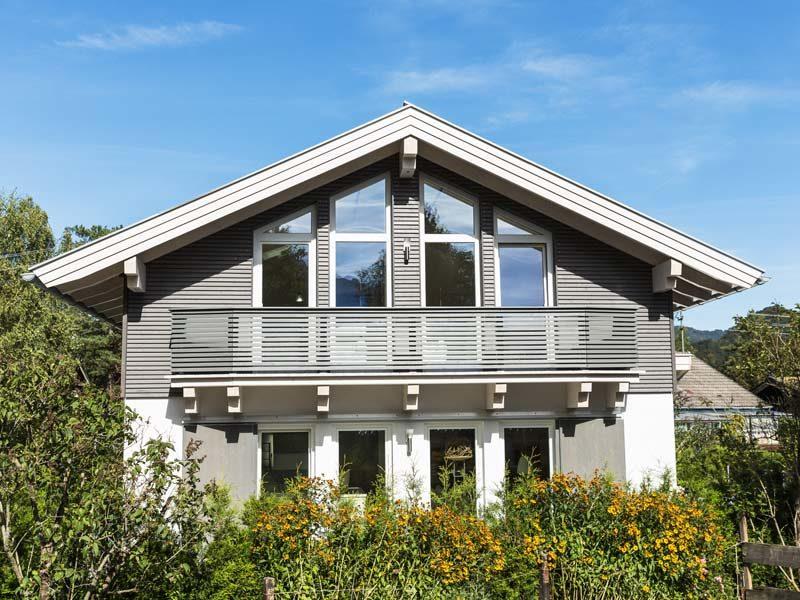 Architektenhaus Kochelsee von Isartaler Holzhaus, Balkon
