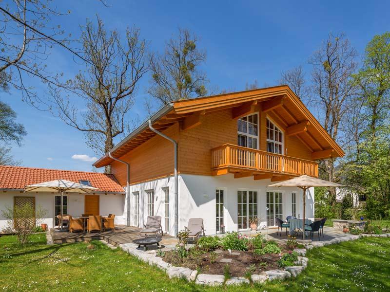 Architektenhaus Ahornsee von Isartaler Holzhaus, Terrasse