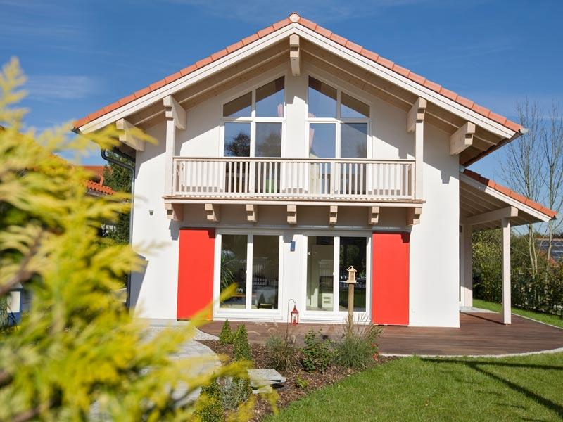 Architektenhaus Gleißental von Isartaler Holzhaus, Terrasse, Balkon