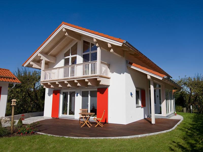 Architektenhaus Gleißental von Isartaler Holzhaus, Terrasse