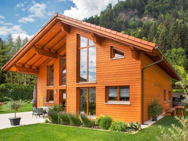 Architektenhaus Traunsee von Isartaler Holzhaus, Garten