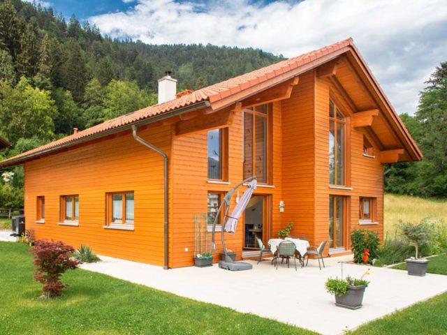 Architektenhaus Traunsee von Isartaler Holzhaus, Terrasse