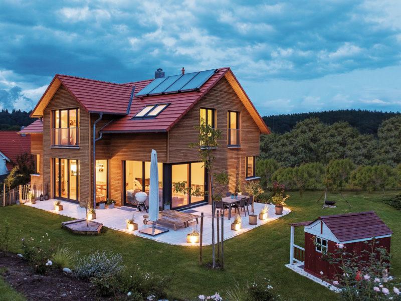 Design 193 von Frammelsberger Holzbau Nacht