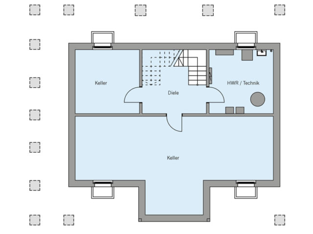 Architekturentwurf Ausblick von Baufritz, KG