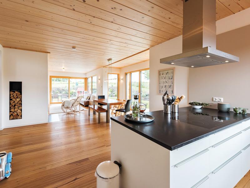 Design 193 von Frammelsberger Holzbau Küche