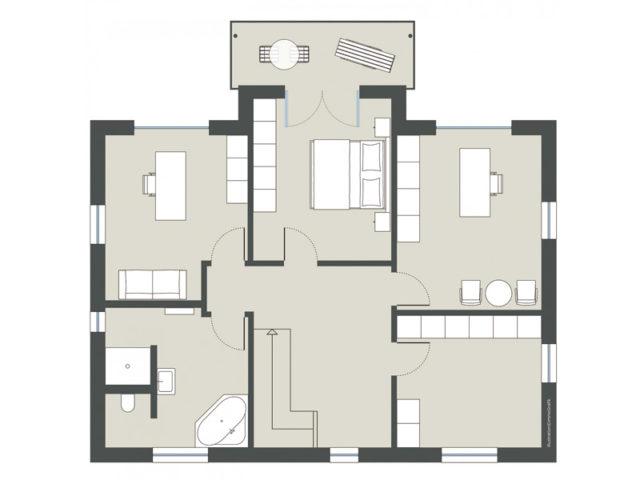 Entwurf Löwenthal von Gussek Haus
