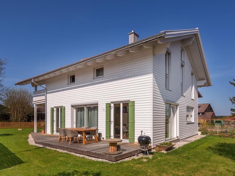 Architektenhaus Eschensee von Isartaler Holzhaus