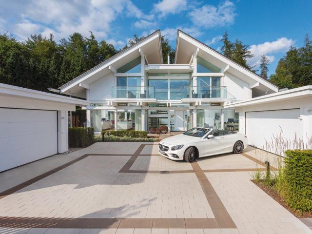 Haus Art 6 Westerwald von Huf Haus Garage