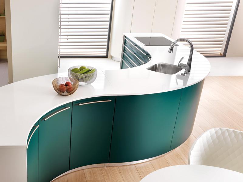 Küchenarbeitsplatte aus Innoquarz von Schmidt Küchen
