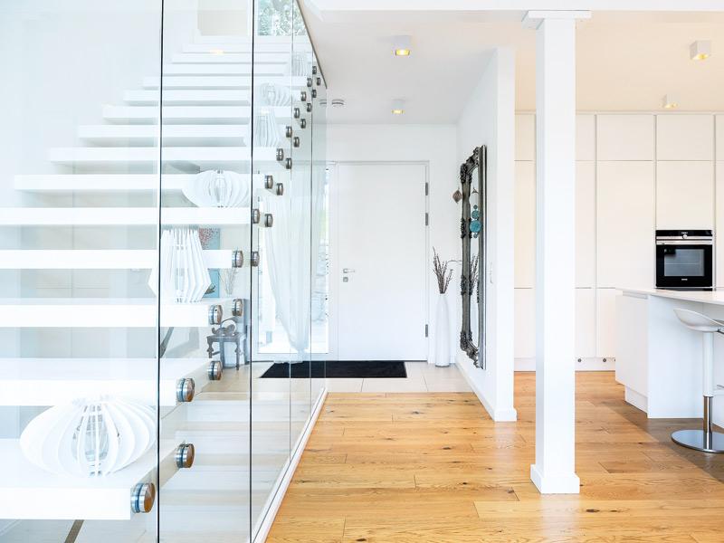 Haus Handl von Griffnerhaus Eingang Treppe