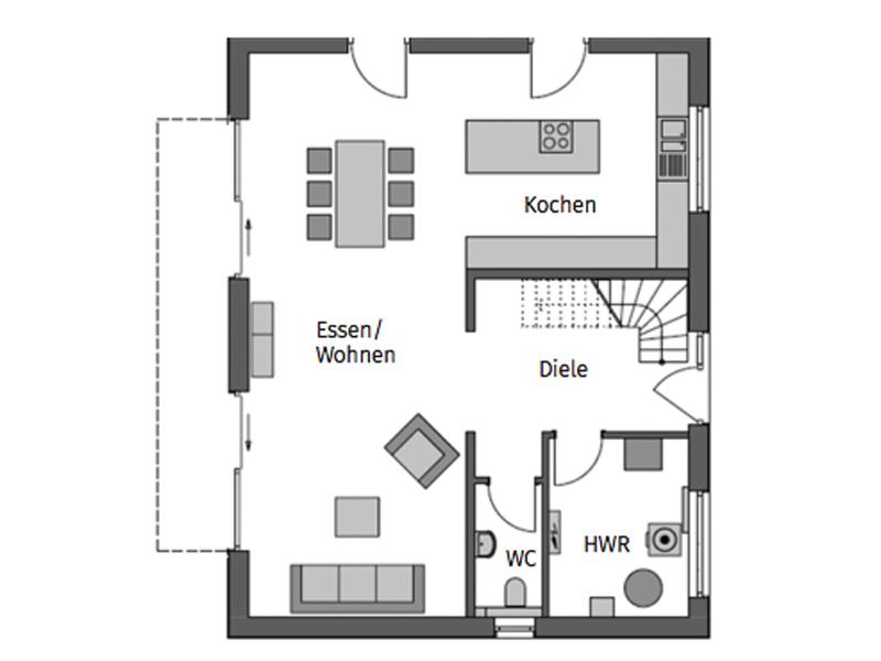 Grundriss Erdgeschoss Heinz-von-Heiden-Calvus-630-individuell
