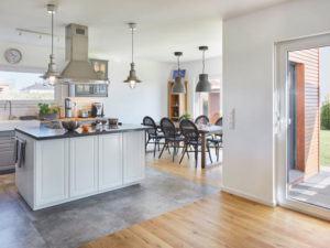 Luxhaus Satteldach Landhaus 151. Küche